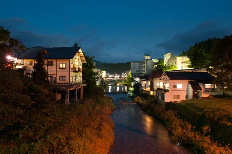 赤倉温泉 夜景